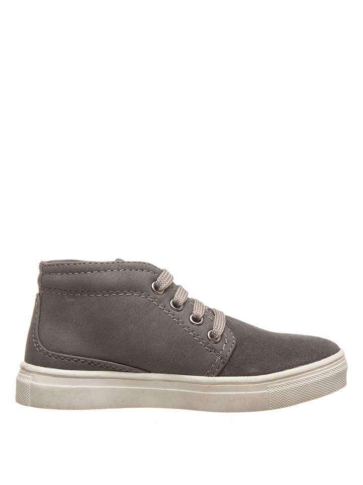 f7c94f03da22ca Bata - Leder-Sneakers in Grau