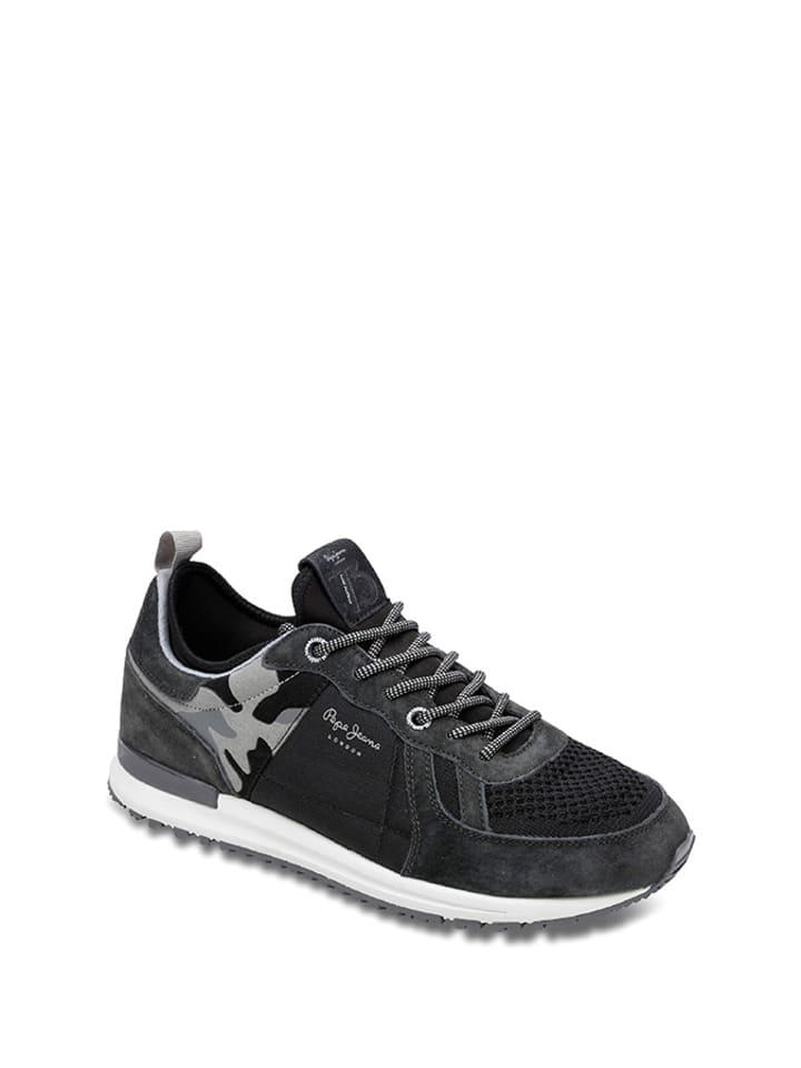 Pepe Jeans Sneakersy w kolorze czarnym