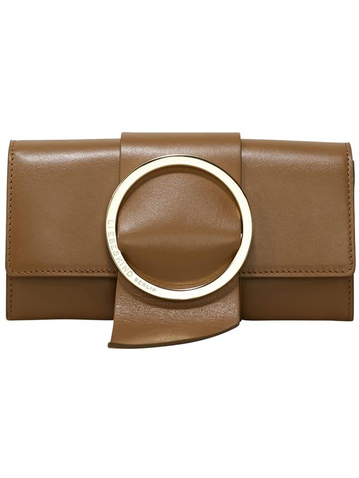 "Liebeskind Portefeuille en cuir ""B Wallet"" - marron clair - 19 x 10 x 3 cm"