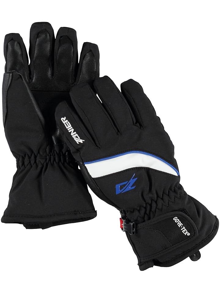 """Zanier Młodzieżowe rękawice narciarskie """"Abtenau GTX"""" w kolorze czarnym"""