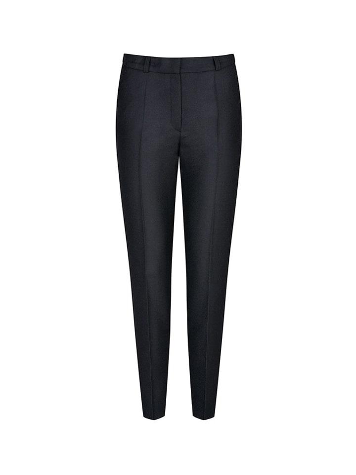 PATRIZIA ARYTON Spodnie w kolorze czarnym