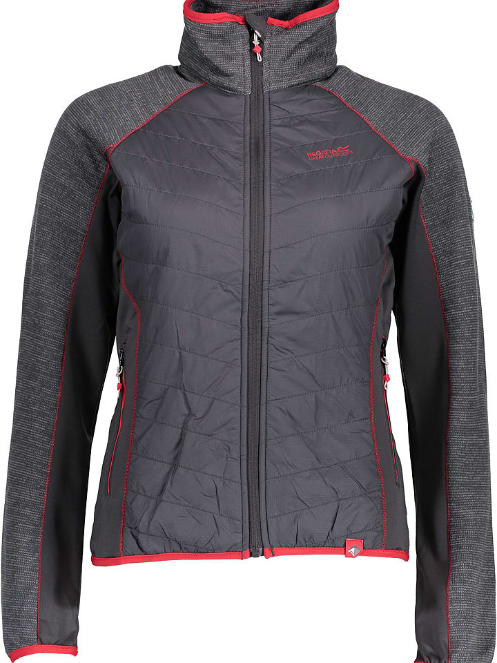 "Regatta Fleecejacke ""Robson"" in Grau"