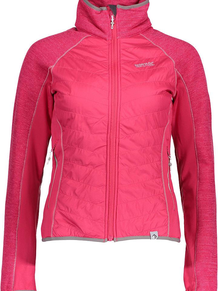 """Regatta Kurtka polarowa """"Robson"""" w kolorze różowym"""