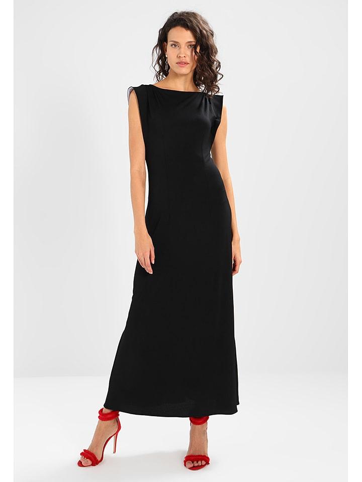 Mint & berry Sukienka w kolorze czarnym