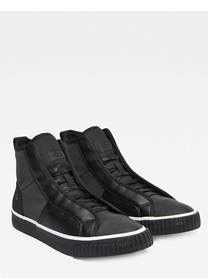 "G-Star Sneakers ""Scuba Mid"" zwart"
