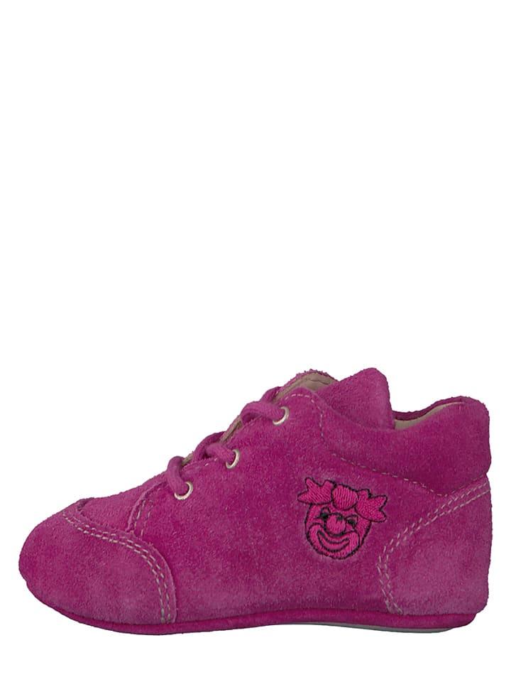 """PEPINO Leder-Sneakers """"Pini"""" in Pink"""