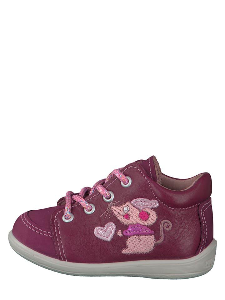 "PEPINO Leder-Sneakers ""Prisja"" in Fuchsia"