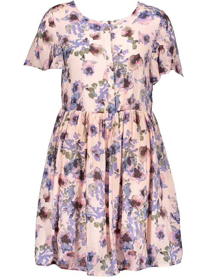 """Vila Sukienka """"Laisa"""" w kolorze jasnoróżowym ze wzorem"""