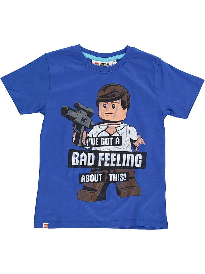 """Legowear Koszulka """"Star Wars"""" w kolorze niebieskim"""