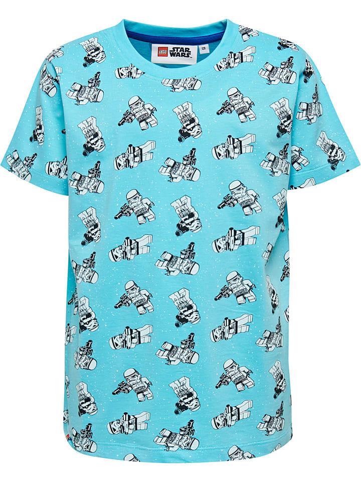 """Legowear Shirt """"Star Wars"""" in Türkis"""