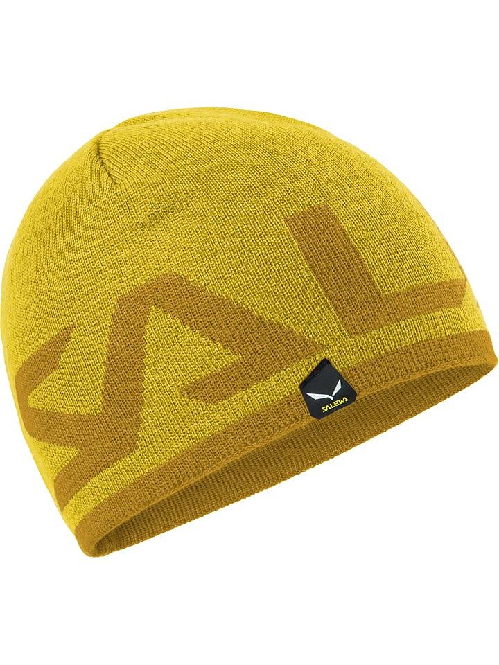 """Salewa Dwustronna czapka """"Agner"""" w kolorze żółtym"""