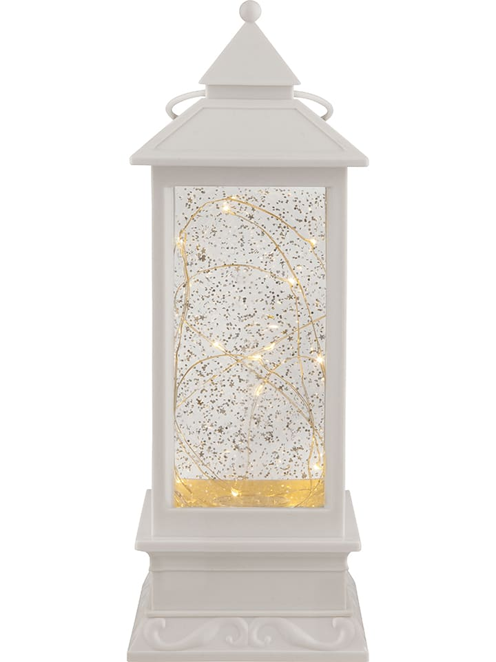 Globo lighting Dekoracja LED w kolorze białym - wys. 30 cm