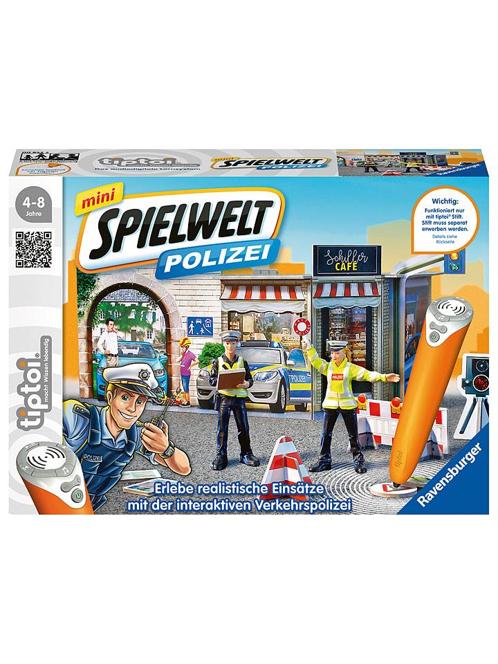 Ravensburger Tiptoi-Spiel Spielwelt Polizei - ab 4 Jahren - 64% | Experimentieren spielzeug