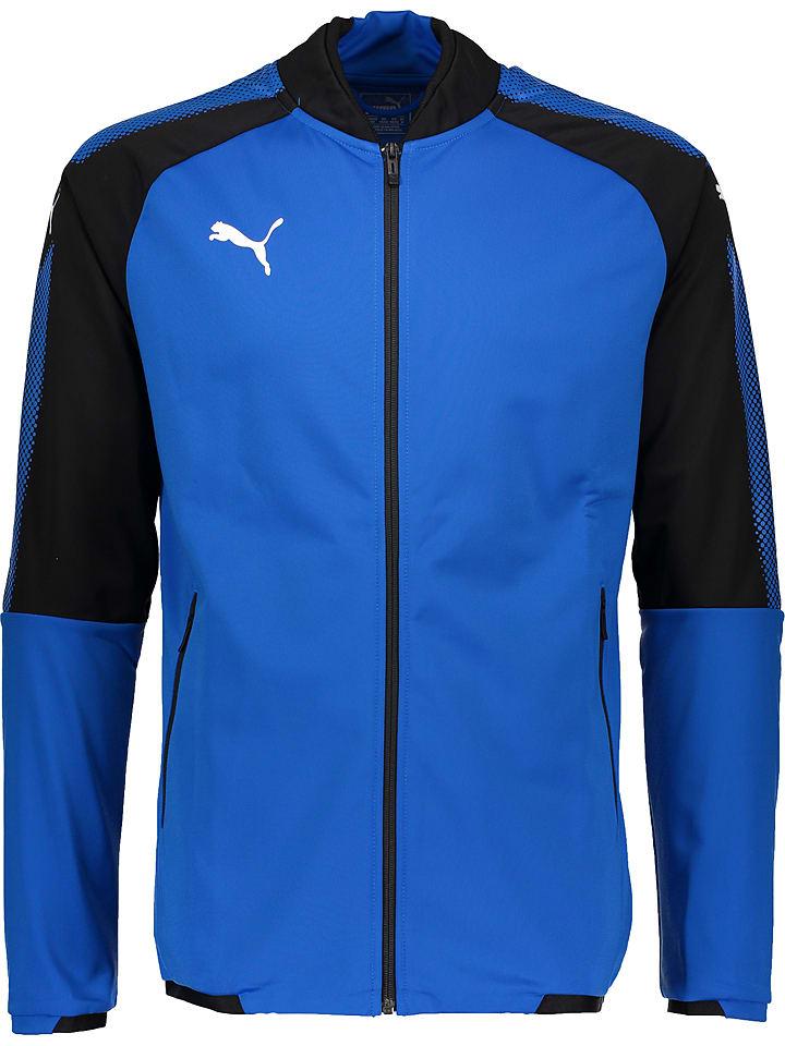 Puma Kurtka sportowa w kolorze niebieskim