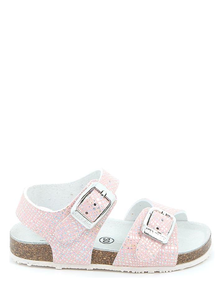 Grünland Junior Sandały w kolorze jasnoróżowym
