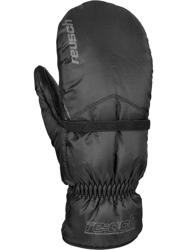 """Reusch Skórzane rękawice narciarskie """"Reusch Annapurna II"""" w kolorze czarnym"""