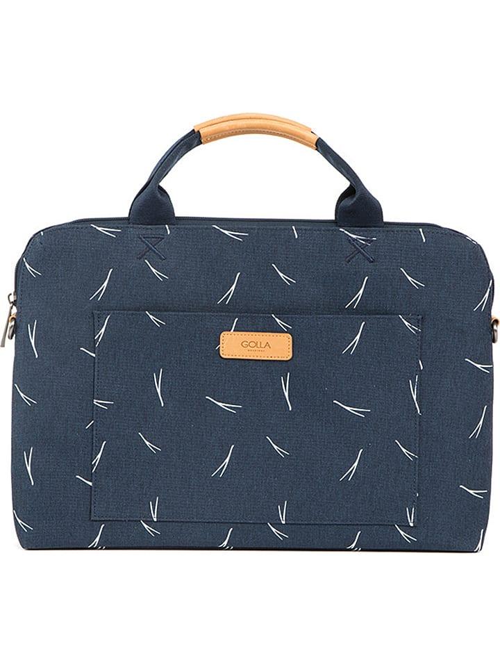 Golla  Laptoptasche ´´Polaris´´ in Dunkelblau (B)35 x (H)24,5 x (T)5,5 cm | 63% Rabatt | Damen taschen | 06419334112633