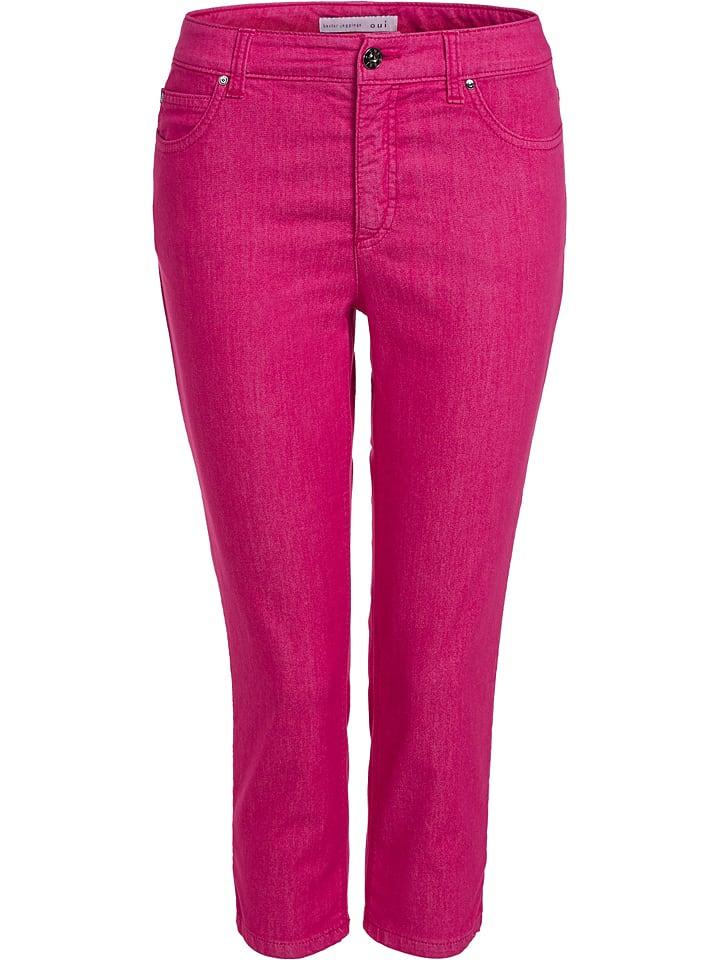 Oui Jeggings - Slim fit - in Pink