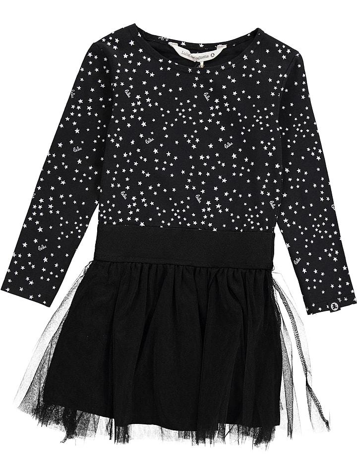 Lulu Castagnette Sukienka w kolorze czarno-białym