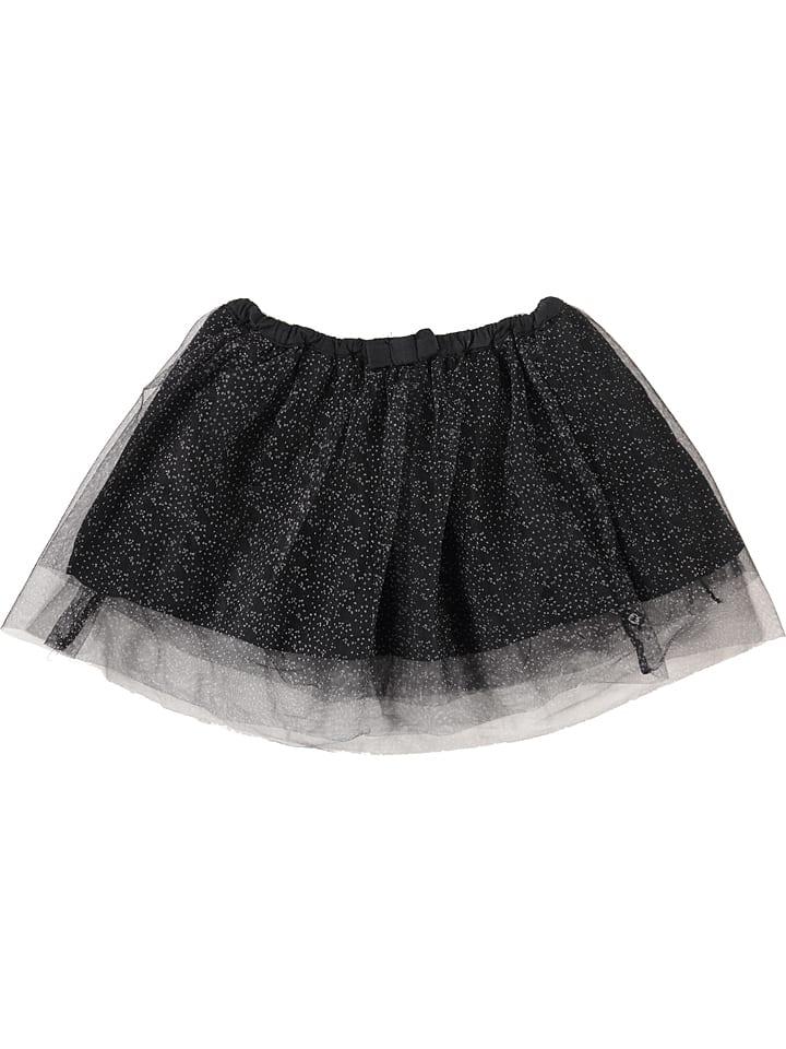 "Lulu Castagnette Spódnica ""Darista"" w kolorze czarno-srebrnym"