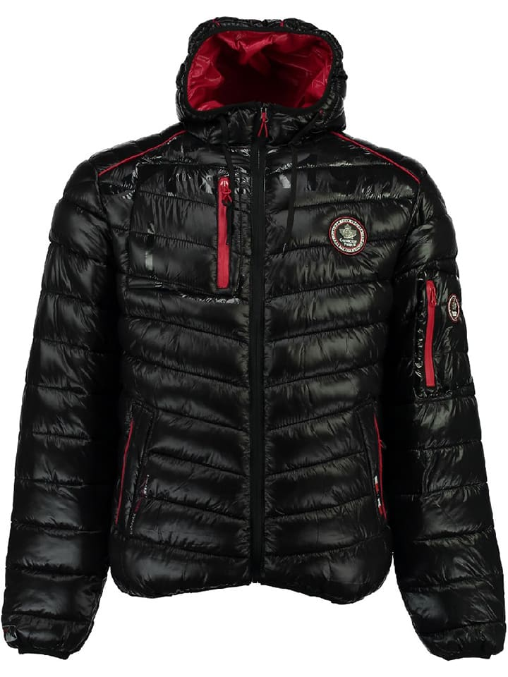 "Canadian Peak Winterjacke ""Barmika"" in Schwarz"