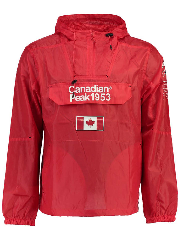 """Canadian Peak Veste fonctionnelle """"Butanmen"""" - rouge"""