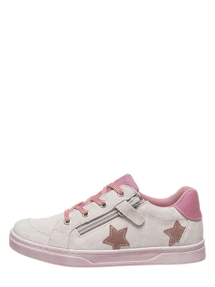 Lamino Sneakersy w kolorze beżowym