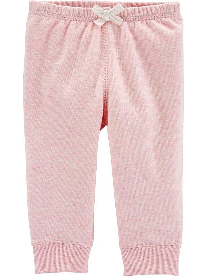 Carter's Spodnie dresowe w kolorze jasnoróżowym