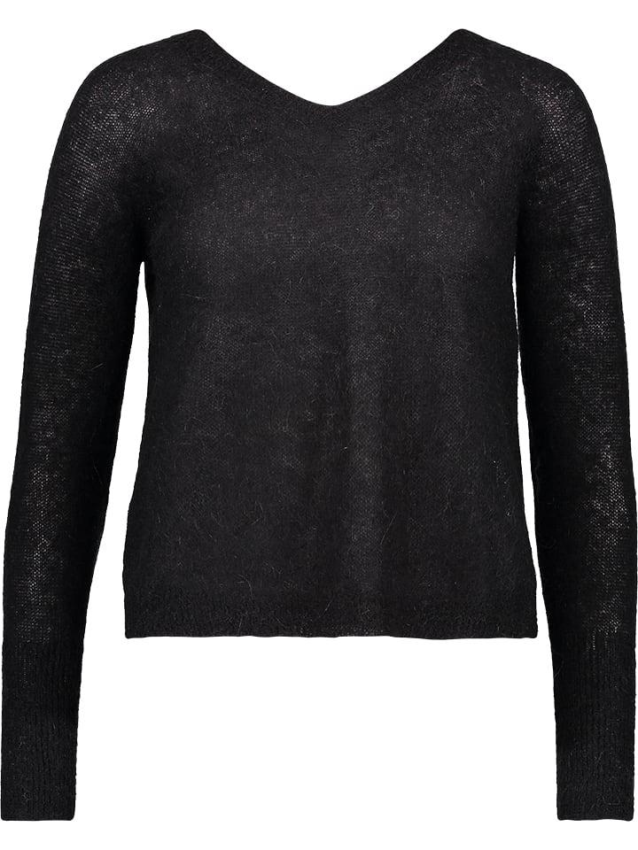 Benetton Sweter w kolorze czarnym