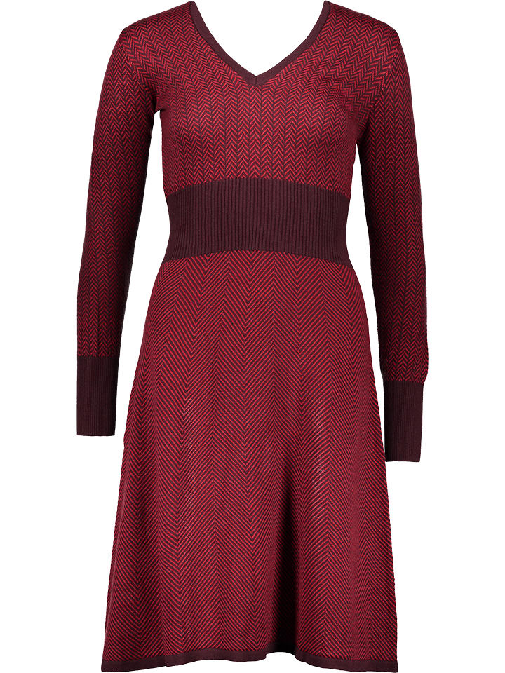 6981a5c2bf55fa Benetton - Gebreide jurk rood