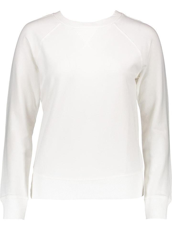 Benetton Sweatshirt in Weiß