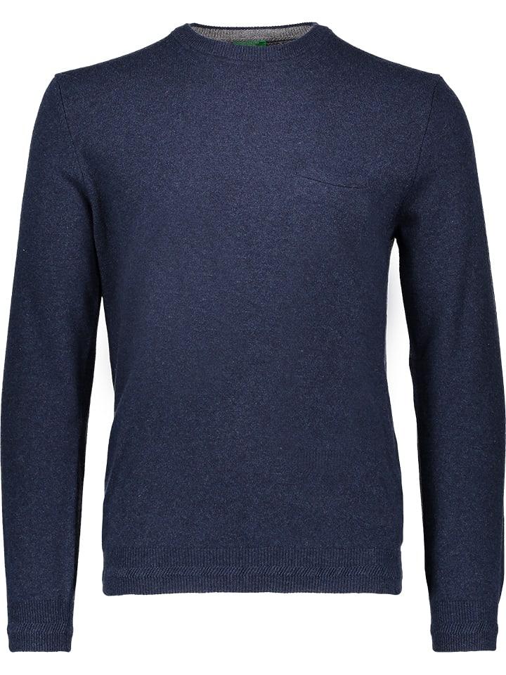 Benetton Pullover in Blau
