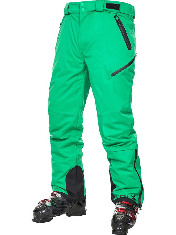"Trespass Pantalon de ski/snowboard ""Kristoff"" - vert"