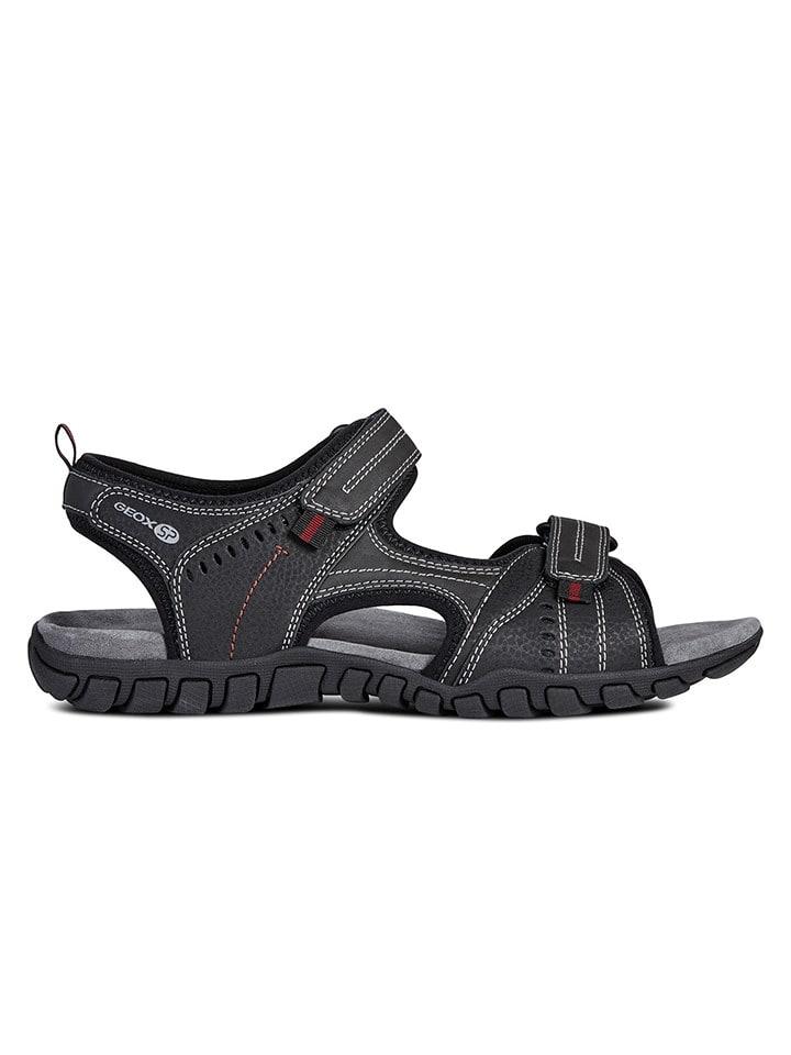 Geox Sandały w kolorze czarnym
