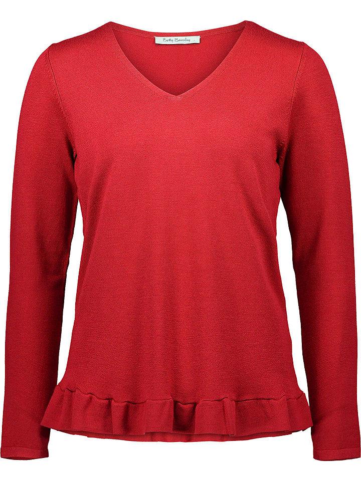 Betty Barclay Sweter w kolorze czerwonym