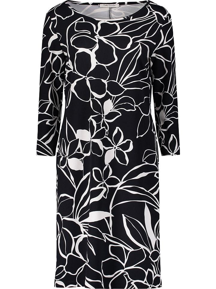 Betty Barclay Sukienka w kolorze czarno-białym