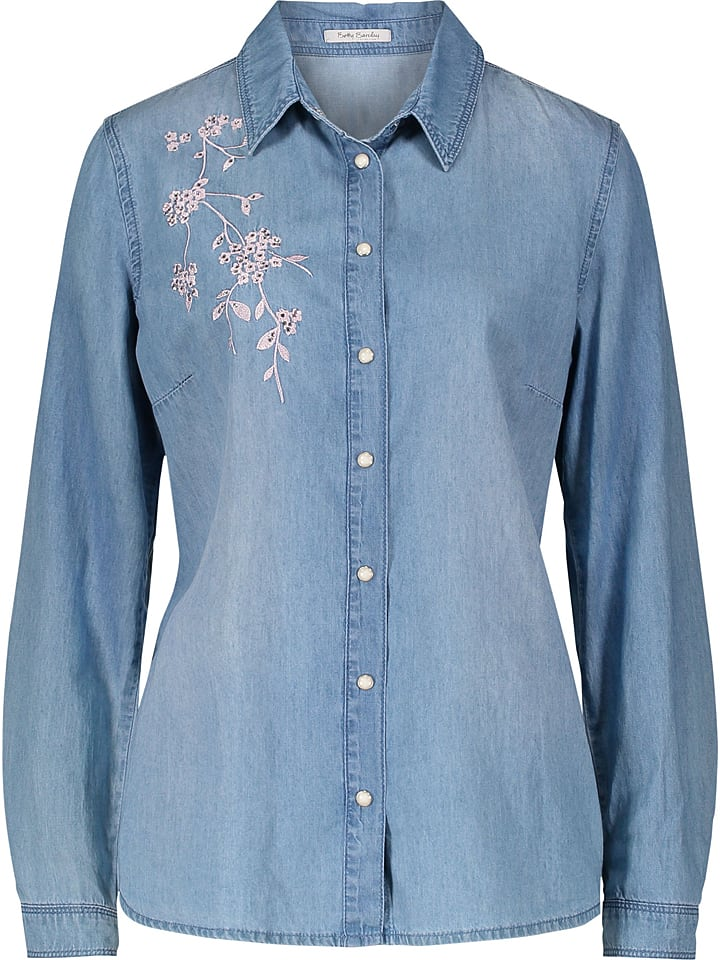 Betty Barclay Dżinsowa bluzka w kolorze niebieskim