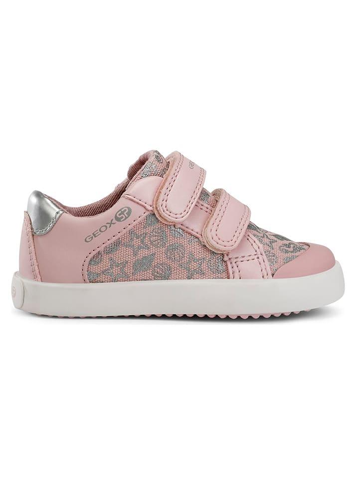 """Geox Sneakersy """"Gisli"""" w kolorze jasnoróżowym"""