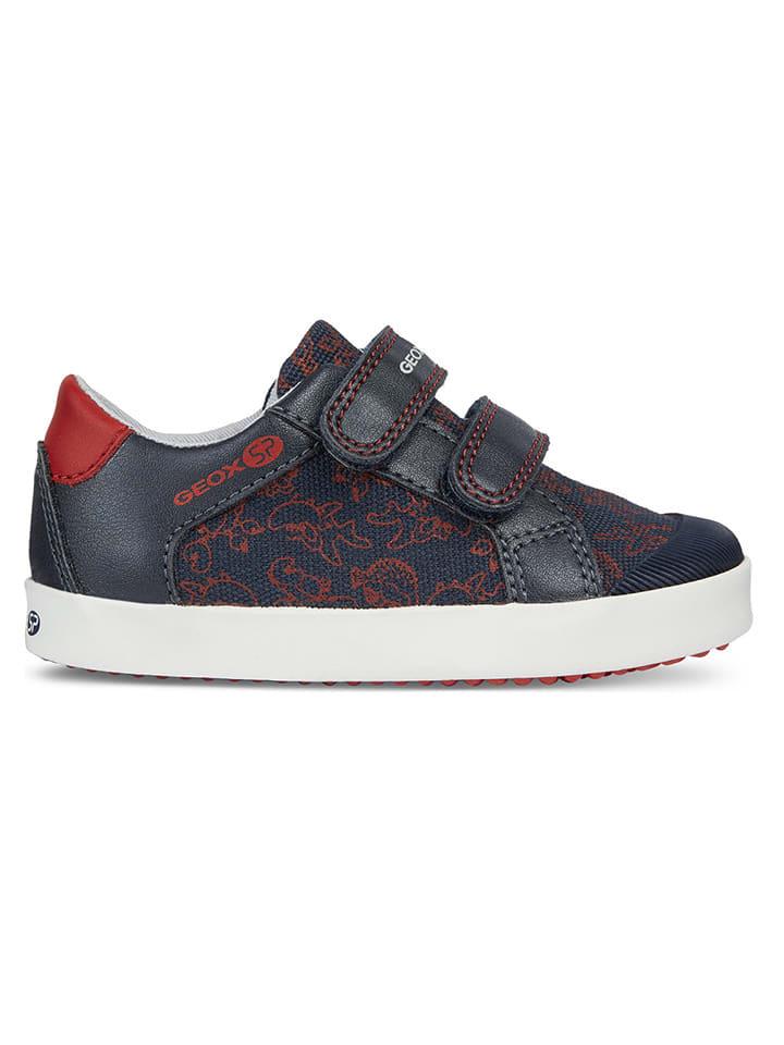 "Geox Sneakers ""Gisli"" donkerblauw"