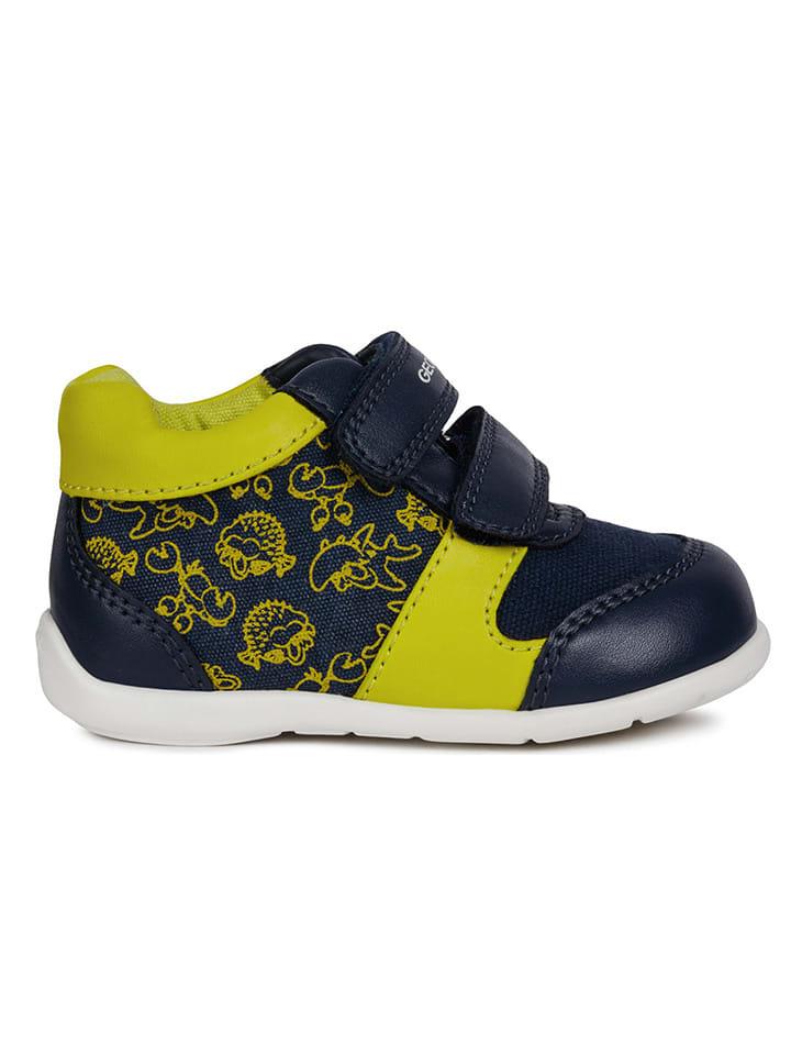 """Geox Sneakersy """"Elthan"""" w kolorze granatowym"""