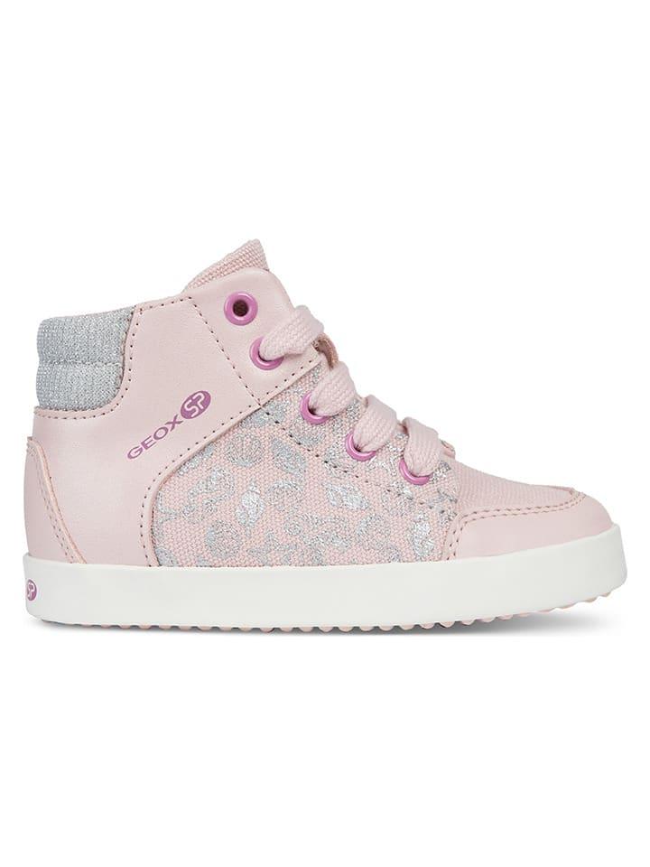 """Geox Sneakers """"Gisli"""" lichtroze"""
