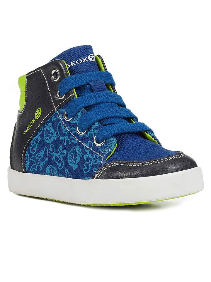 """Geox Sneakersy """"Gisli"""" w kolorze niebieskim"""