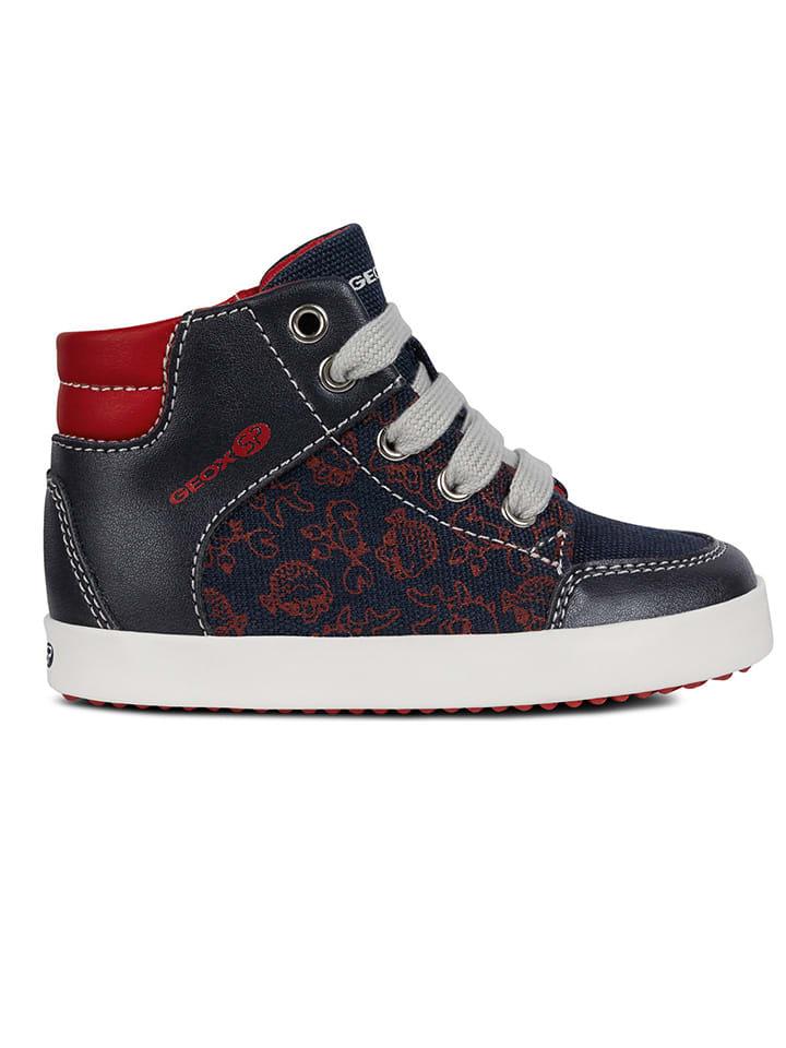 """Geox Sneakersy """"Gisli"""" w kolorze granatowym"""