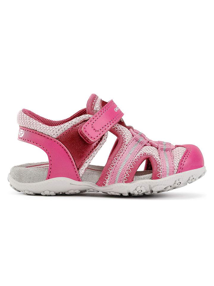 """Geox Sandały """"Roxanne"""" w kolorze różowym"""