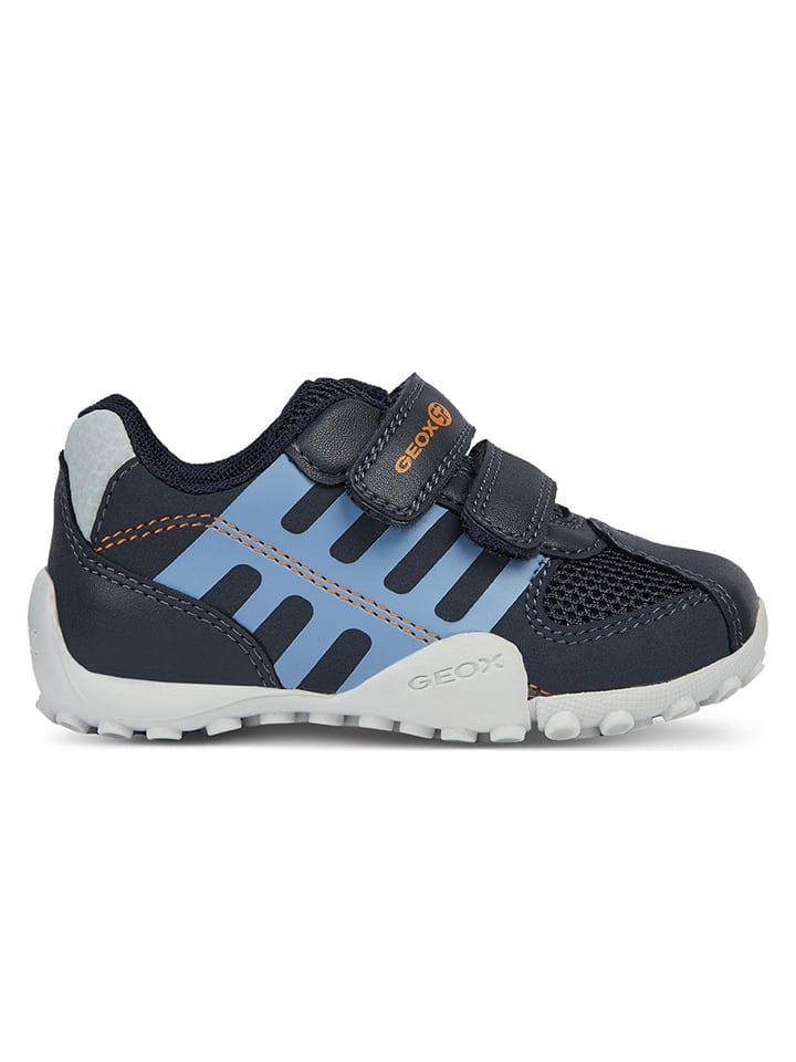 """Geox Sneakers """"Snake"""" in Dunkelblau"""
