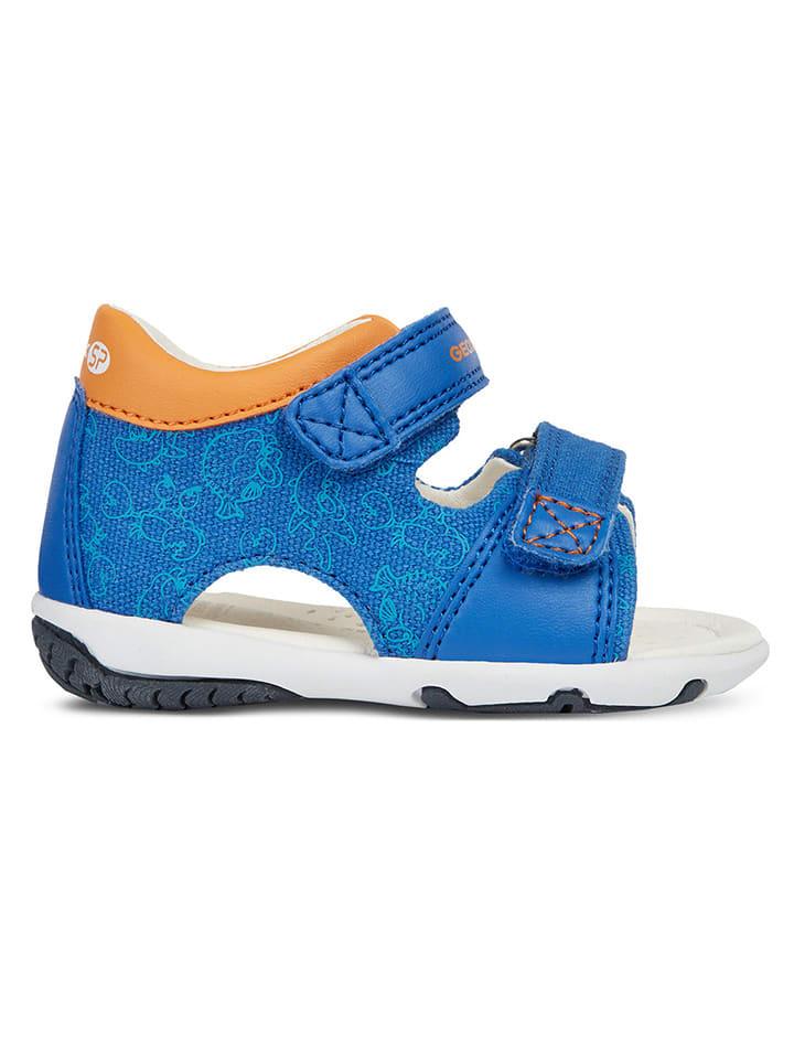 """Geox Sandały """"Elba"""" w kolorze niebieskim"""
