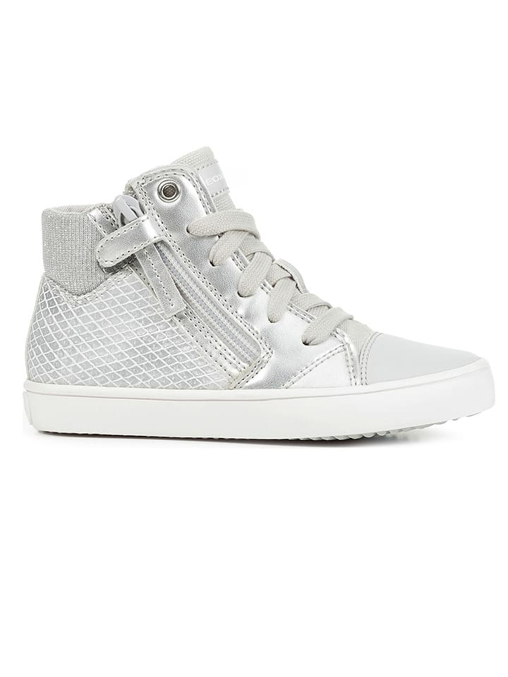 """Geox Sneakers """"Gisli"""" in Silber"""