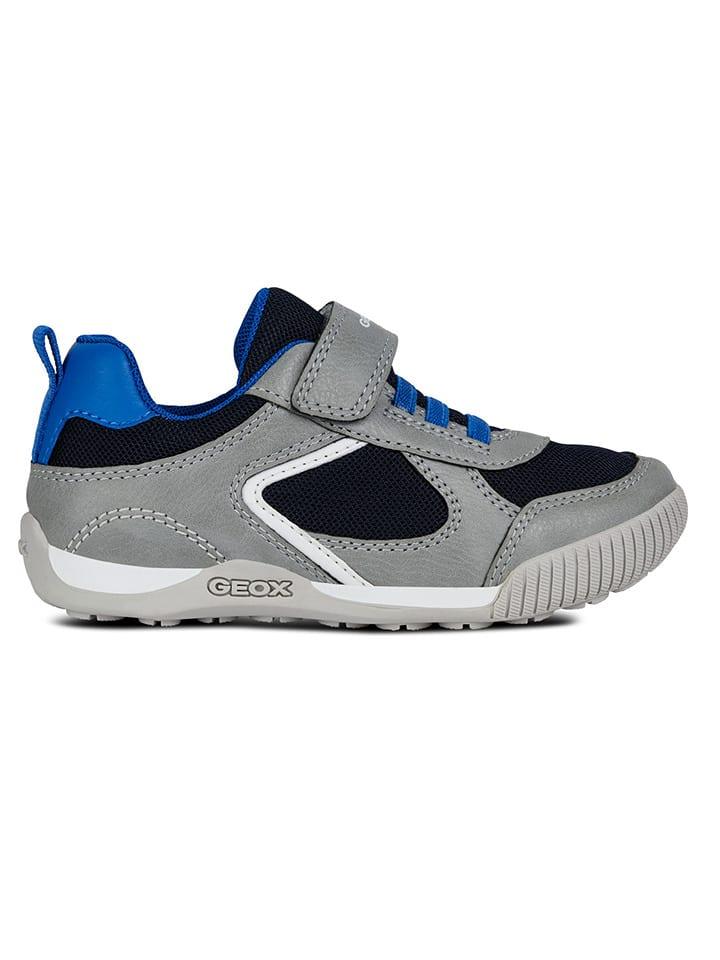 "Geox Sneakersy ""Nekkar"" w kolorze szarym"