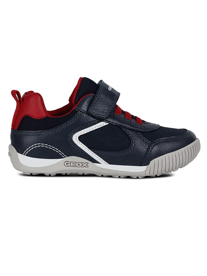 """Geox Sneakersy """"Nekkar"""" w kolorze granatowym"""