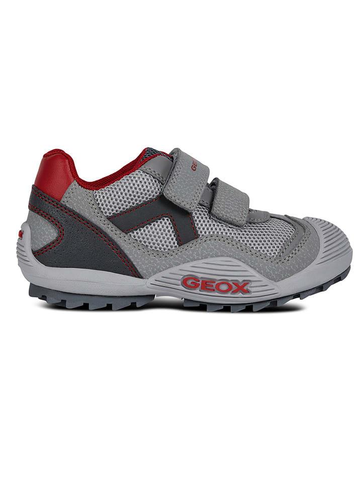 """Geox Sneakersy """"Atreus"""" w kolorze szarym"""